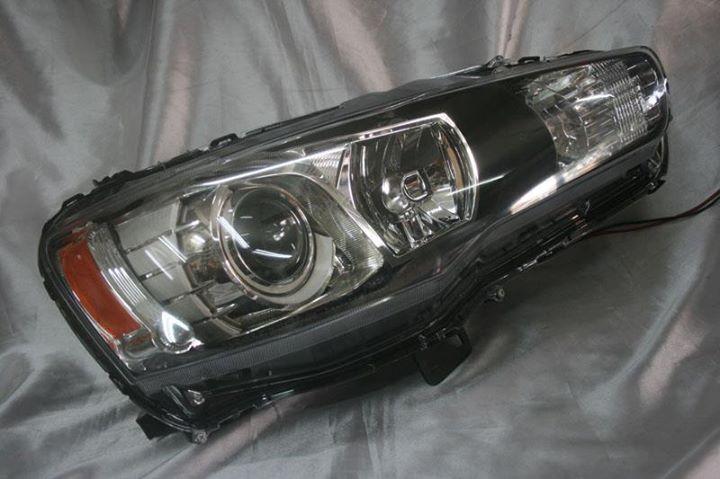 Proton Inspira 10  Evo X Style Projector Headlamp
