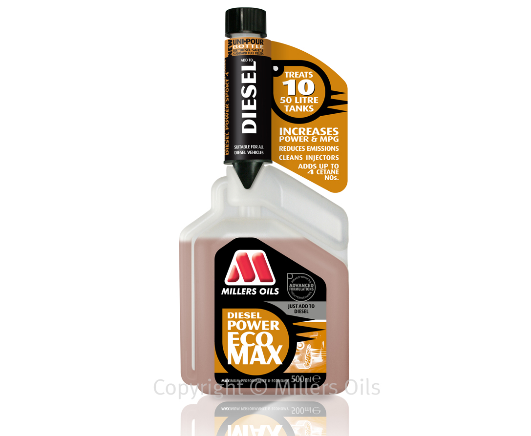 Millers Oils Diesel Power Ecomax 500ml