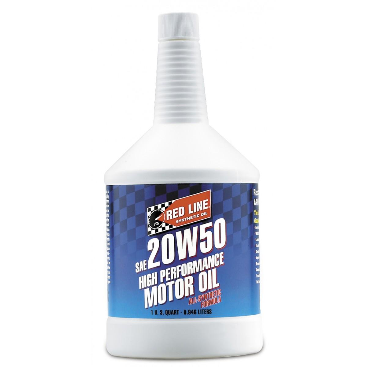 Redline 20W50 Motor Oil 1Qt