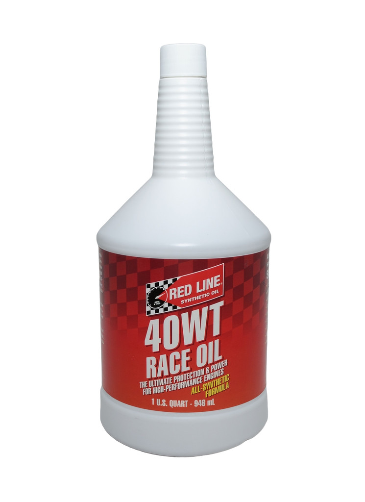 Redline 40WT Drag Race Oil (15W40) 1Qt