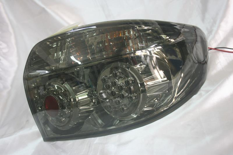 Toyota Vios 03 - 06  Chrome Face Smoke Lens LED Tail Lamp