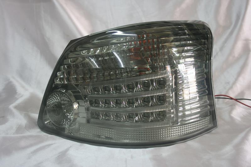 Toyota Vios 07-  Chrome Face Smoke Lens LED Tail Lamp