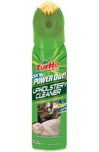 Turtle Wax T-246R1 Power Out! Upholstery Cleaner Odor Eliminator 510g
