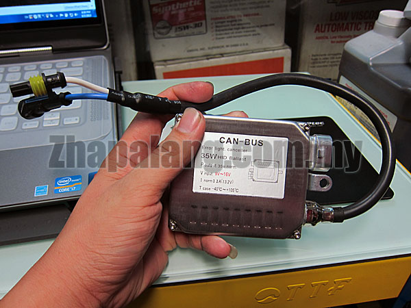 01A Can-Bus 35W HID Ballast