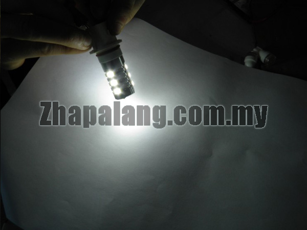 LED P13W 12SMD 5630 Car LED Bulb(White) - Constant Flow Actuation