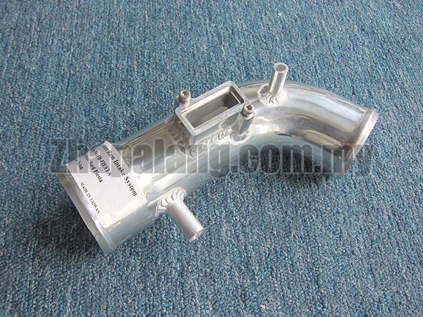 Aftermarket Air Intake Pipe(Chrome) for Ford Fiesta
