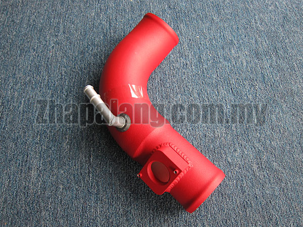 Aftermarket Air Intake Pipe(Red Powder Coated) for Mitsubishi Lancer GT/Proton Inspira