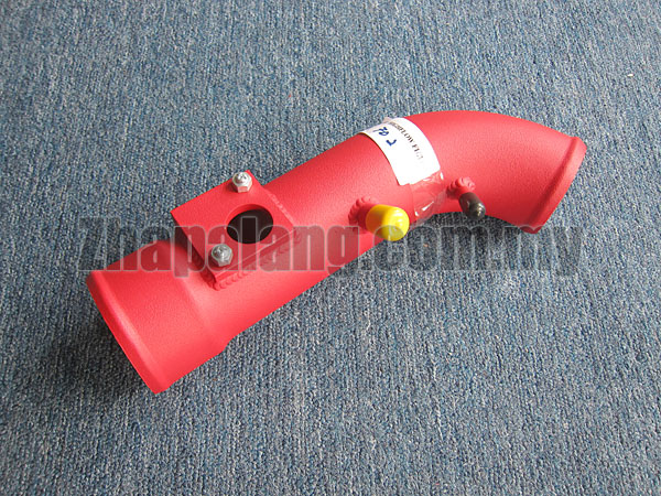 Aftermarket Air Intake Pipe(Red Powder Coated) for Honda Civic FD1/2 1.8/2.0