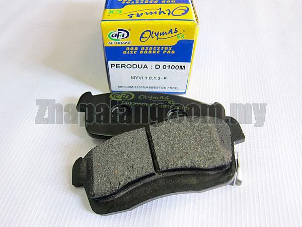 AFI Olymas EX Brake Pad for Perodua Myvi 1.0/1.3