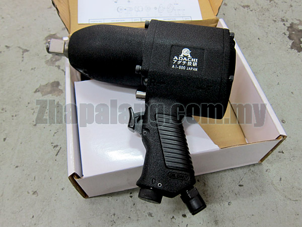 "Adachi 3/4"" Air Impact Wrench (Pin Clutch) 1100 ft-lbs"