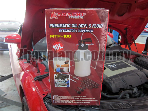 Adachi Two Way 10L Pneumatic Air Engine Gear ATF Oil & Fluid Extractor & Dispenser