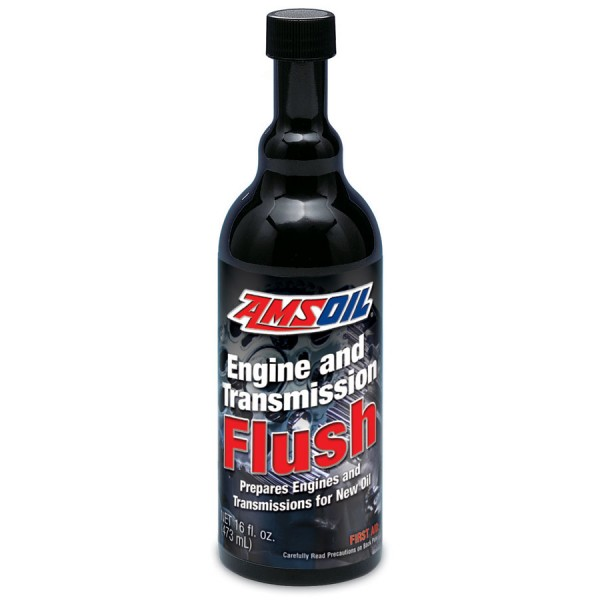 Amsoil Engine and Transmission Flush 16 oz.