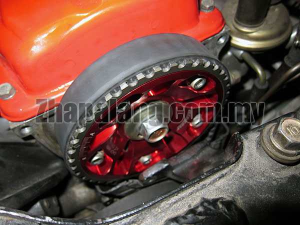 Arospeed Adjustable Cam Pulley for Proton 12V(Red)