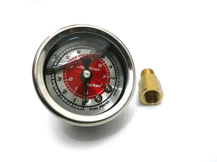 AroSpeed FPR(Fuel Pressure Regulator) Oil Gauge - Red