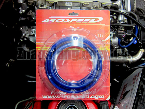 Arospeed Silicon Vacuum Hose 4mm & 6mm In One Pack(Blue)