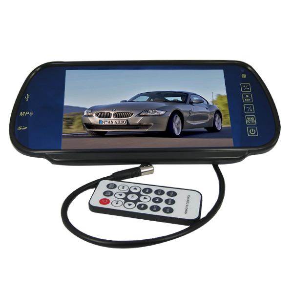 "Auto Zaki Universal 7"" Rear View TFT-LCD Monitor"