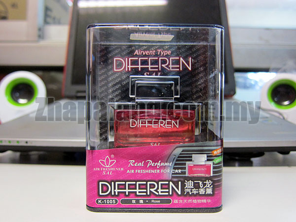 AutoDoc - Differen Air Freshener Perfume(Rose)