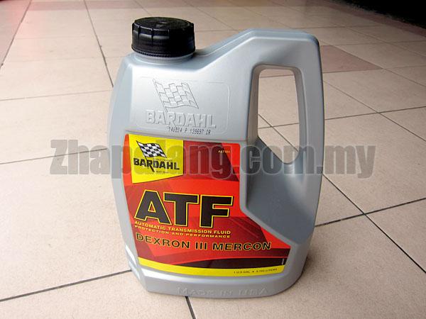 Bardahl Automatic Transmission Fluid(ATF) 4L