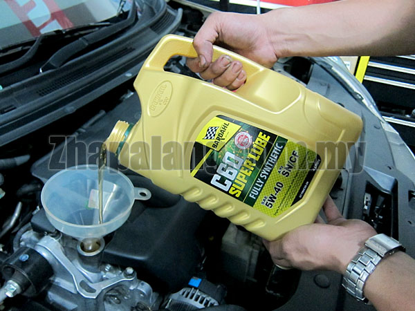 Bardahl C60 Super Lube Fully Synthetic Engine Oil SAE 5W40 SN/CF 4L