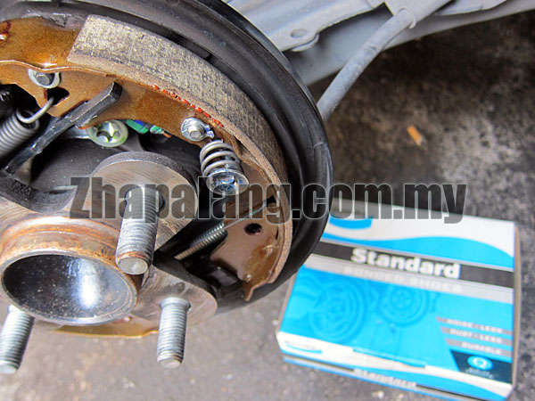 Bendix Bonded Drum Brake Shoe(Perodua Myvi)