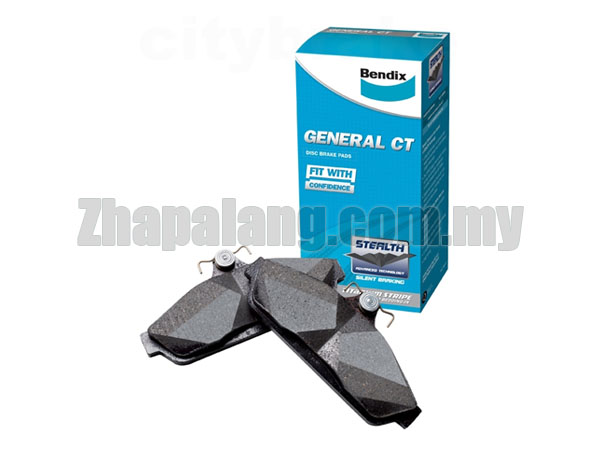 Bendix GCT Disc Brake Pads Mazda 6 '07 above - Front