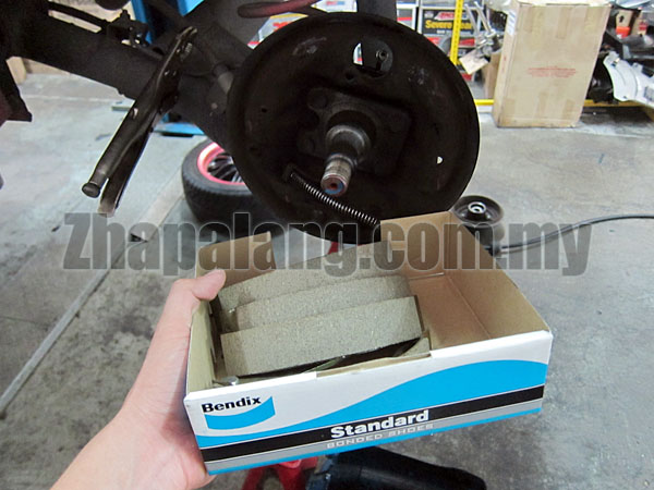 Bendix Bonded Drum Brake Shoe(Proton Savvy/BLM)