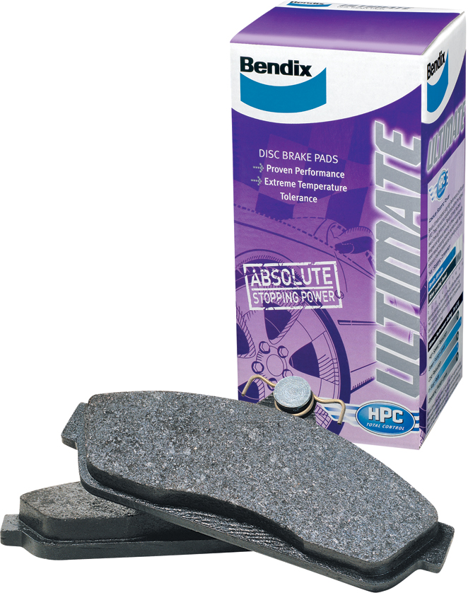 Bendix Ultimate Brake Pads for Isuzu Dmax Front - DB1468ULT