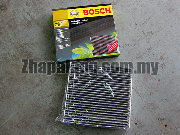 Bosch Activated Carbon Cabin Filter for Toyota 06-