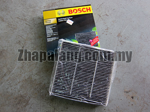 Bosch Activated Carbon Cabin Filter for Honda Jazz, Perodua Alza, Suzuki Swift, Toyota Rush