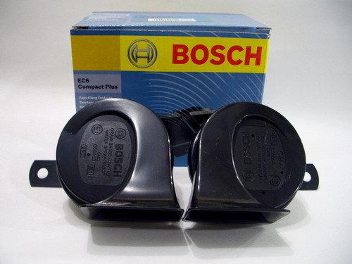 Bosch 12V 400/500HZ 110DB EC6 Compact Plus 2 dual tone fanfare BM Car horns