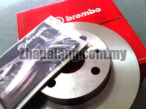 Brembo Standard Brake Discs for HONDA ACCORD SDA 2.0/2.4 2005