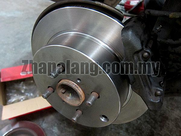 Brembo Standard Brake Discs for Perodua Myvi Front