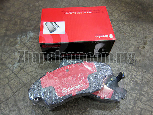 Brembo Standard Brake Pads Front for Mitsubishi Evolution 7 8 9 (Brembo Type) Evolution X Evo 10