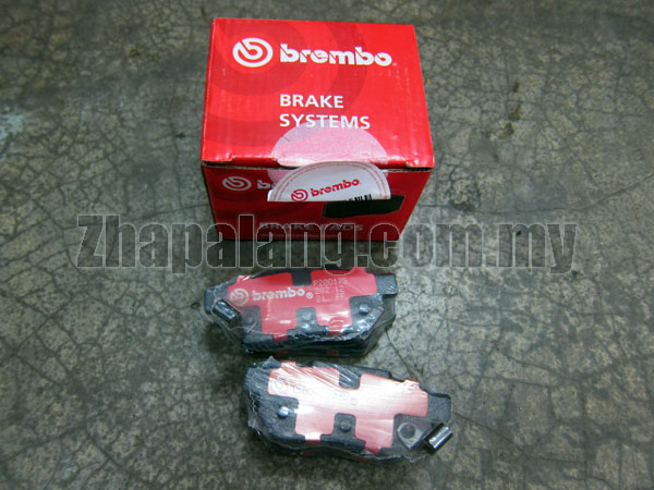 Brembo Standard Brake Pads Rear for  Honda Accord 2013 Odyssey RC1 2.4 CR-V 2007 SWA 2012 TOA