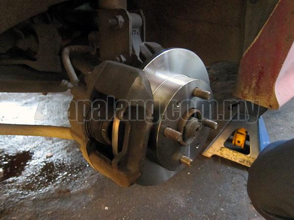 Brembo Standard Brake Discs for Perodua Kenari/Kelisa/Viva Front