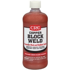 CRC Copper Block Weld Permanent Block & Radiator Sealer 16oz.
