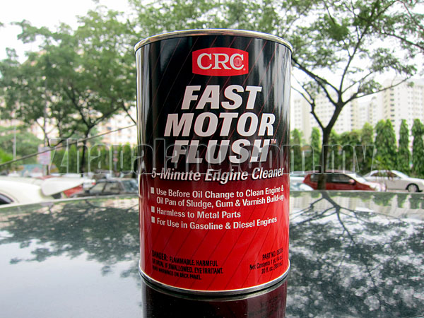 CRC Fast Motor Flush 5-minutes Engine Cleaner (888ml)