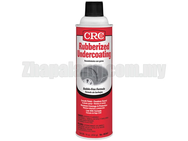 CRC 05347 – Rubberized Spray Undercoating, 16 Wt Oz