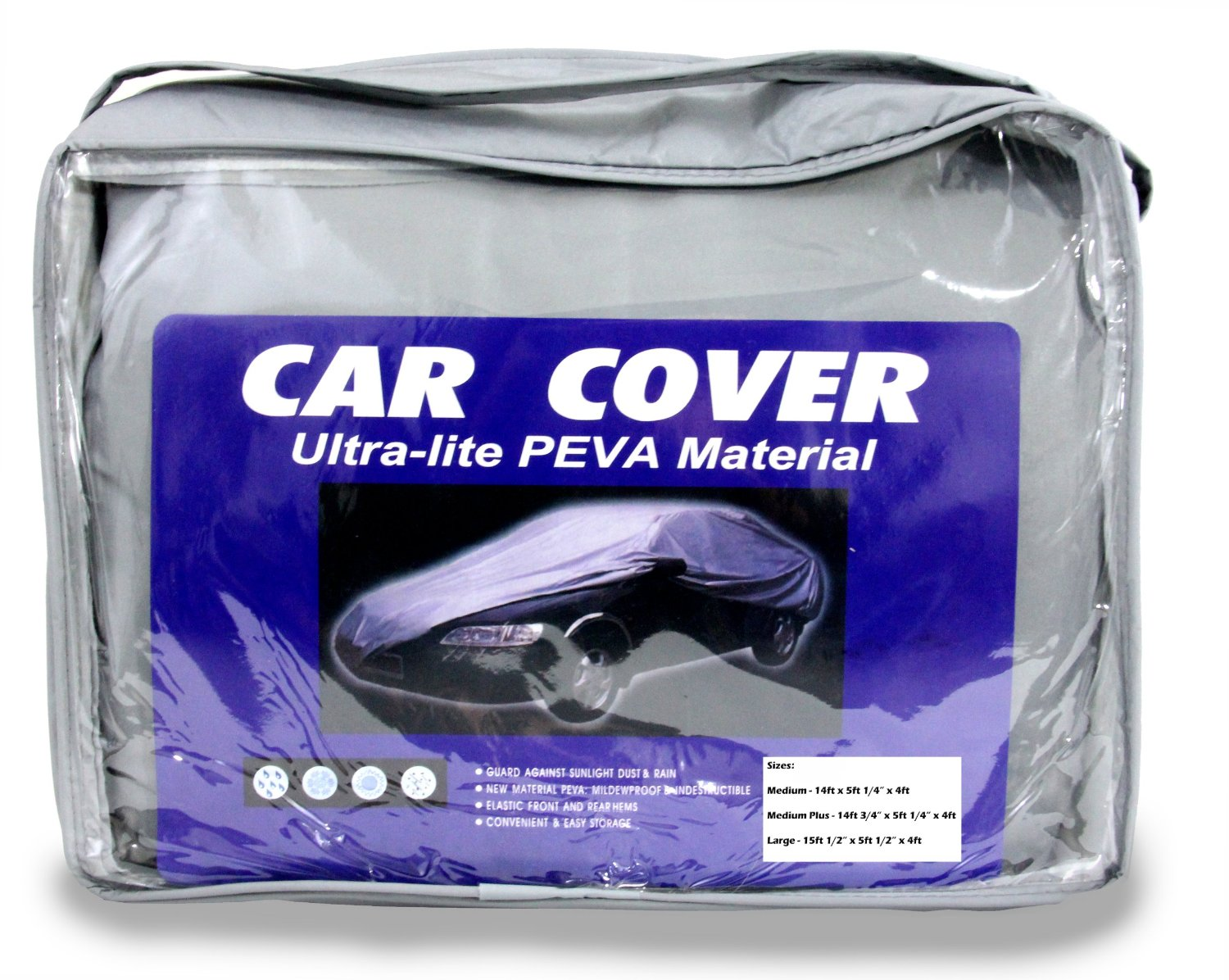 Car Cover Ultra-Lite Peva Material Size XL