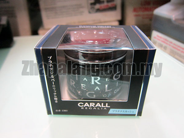 Carall Regalia Enrich Air Refreshener Platinum Squash 65ml
