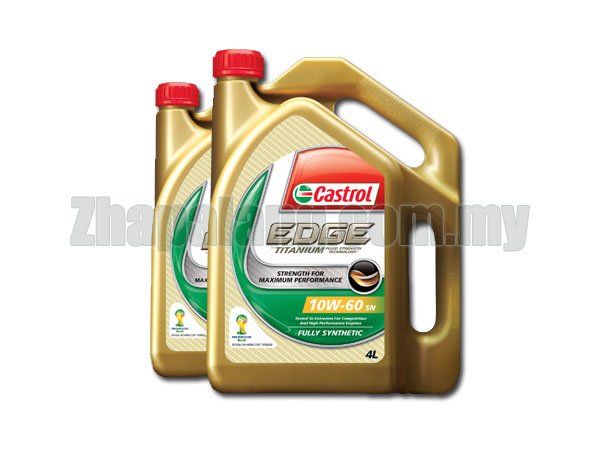Castrol EDGE Fully Synthetic 10W-60 SN 4L