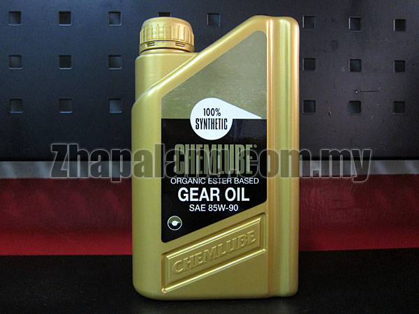 Chemlube Heavy Duty EP Diester Gear Oil 85w90 1Qt.