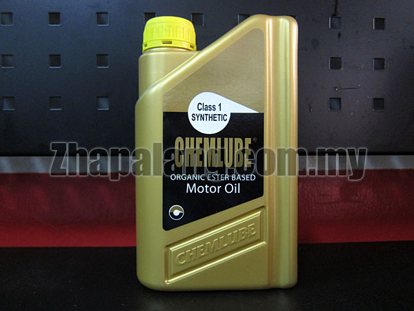 Chemlube 100% Ester Based 10w30 Fully Synthetic Engine Oil 1Qt