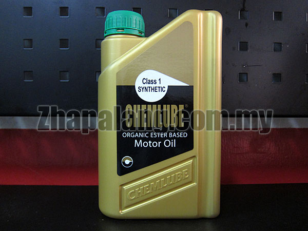 Chemlube 100% Ester Based 10w40 Fully Synthetic Engine Oil 1Qt