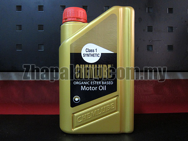 Chemlube 100% Ester Based 20w50 Fully Synthetic Engine Oil 1Qt