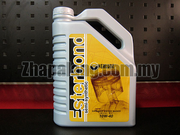 Chemlube Esterbond Semi Synthetic Engine Oil 10w40 4L