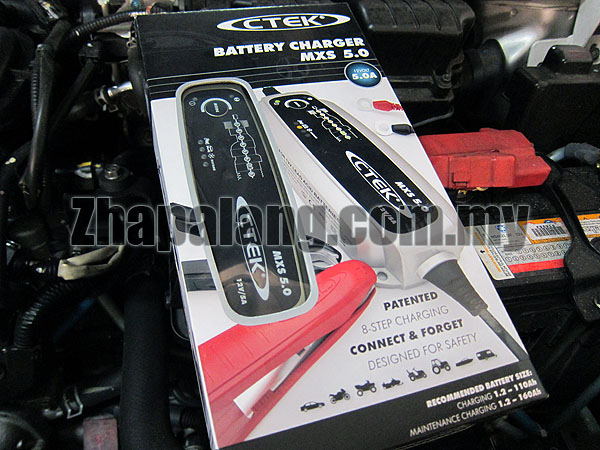 CTEK MXS 5.0 5A 12V Car Battery Charger and Conditioner
