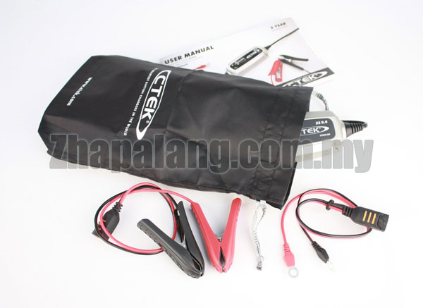 CTEK XS 0.8 UK 12V 1.2A - 32A 6-Stage Battery Charger