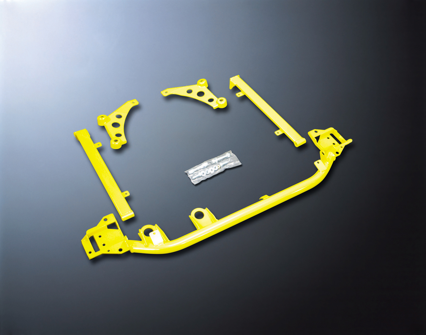 DSPORT Front Lower Brace Kit Perodua Myvi 1.3/1.0