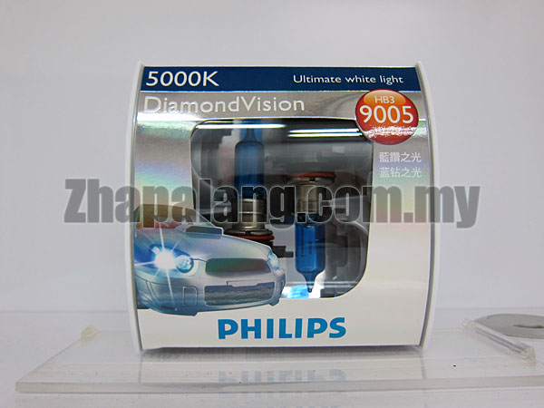 Philips DiamondVision 5000K HB3 9005